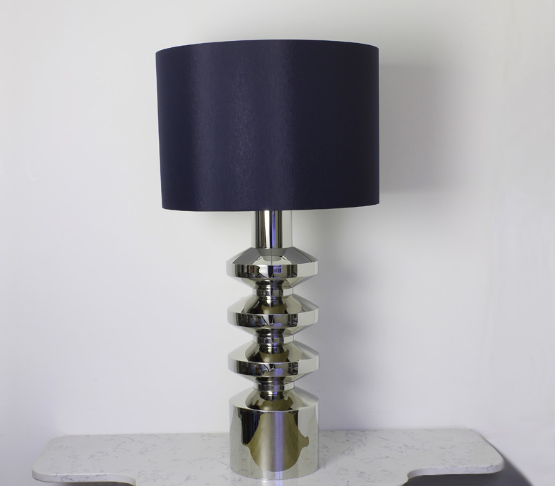 Brutale Table Lamp Nickel