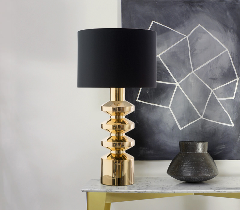 Brutale and Rondo Table Lamp