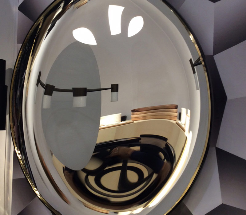 Oracle concave mirror by martin huxford studio for Concave mirror