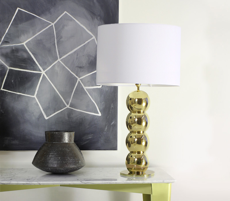 Rondo Table Lamp with Bowl