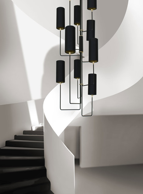 Vortex Staircase Light