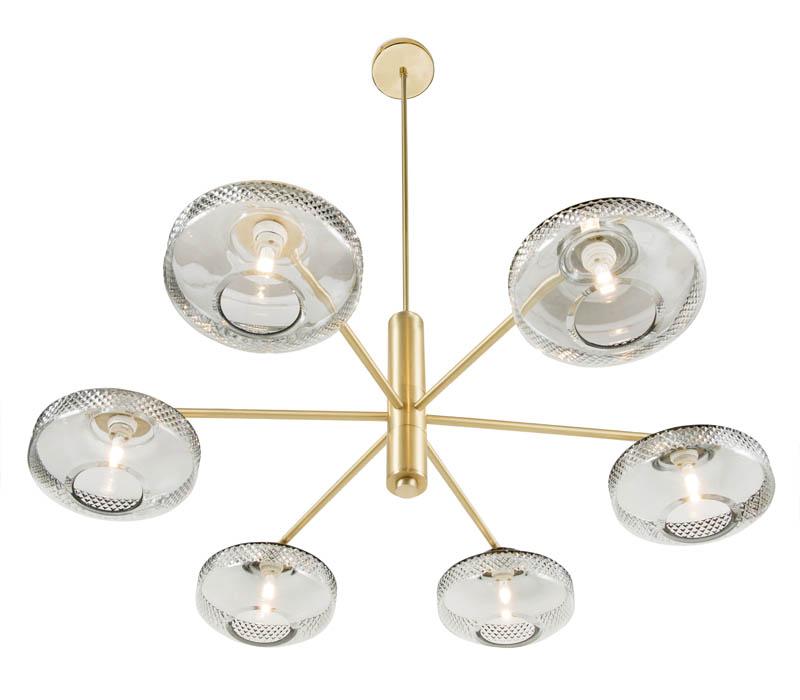 Lily Single Tier Chandelier