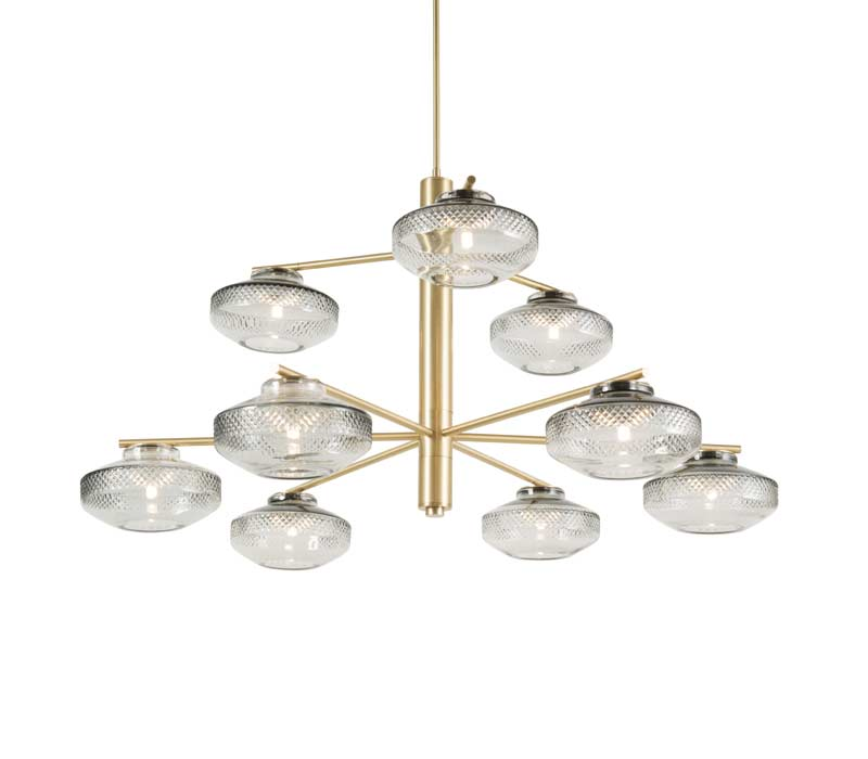 Lily Double Tier Chandelier