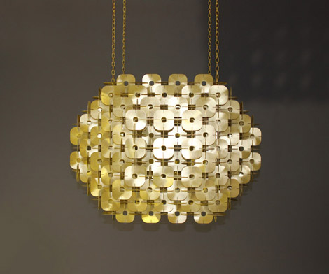 Element Chandelier Hanging