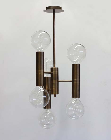 Vertical Globes Pendant