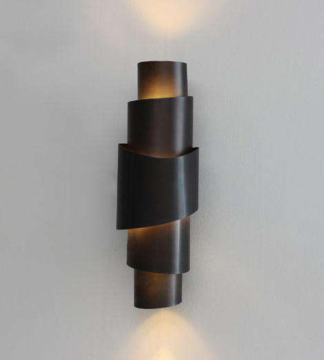 Contour Bronze Wall Sconce