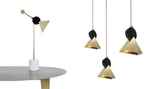 Cairo Table Lamp and Single Pendants