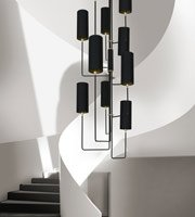 Vortex Staircase Chandelier