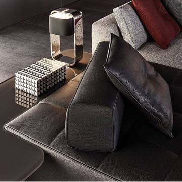 Minotti Italy Perfect Curve Lamp